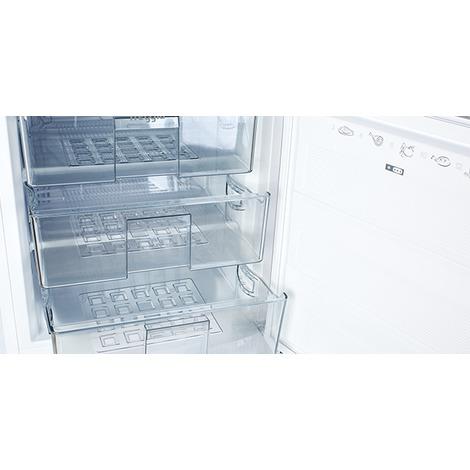 Организация внутреннего пространства морозильника
